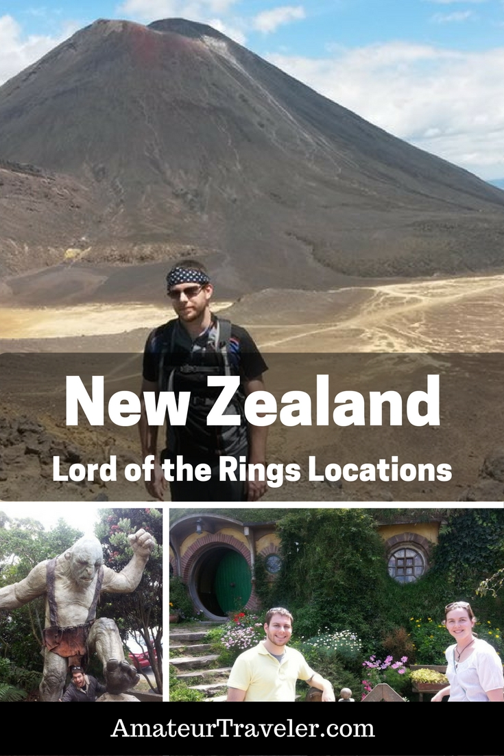 Lord of the Rings New Zealand Locations - A Visit to Middle Earth