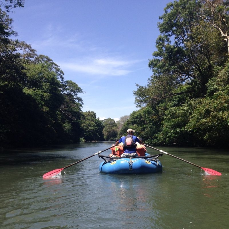 Rafting on Tenorio River