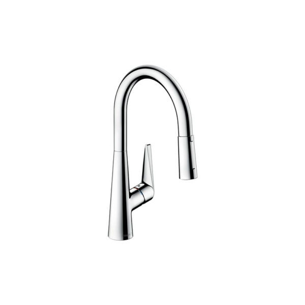 hansgrohe 72813001 talis s2 spray higharc kitchen faucet pull down
