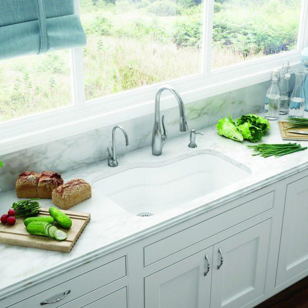 franke orca undermount kitchen sink ork110wh
