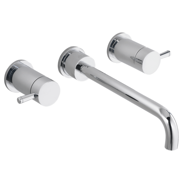 american standard 2064451 002 serin 2 handle 8 inch widespread wall mount bathroom faucet