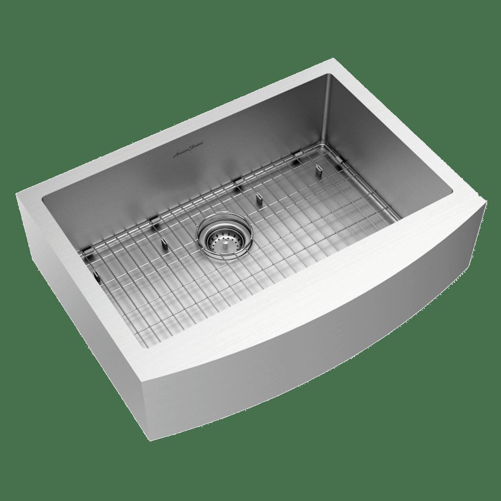 american standard 18sb 9302200a 075 pekoe 30x22 inch stainless steel apron sink