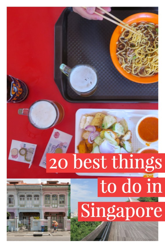 20 things to do in Singapore