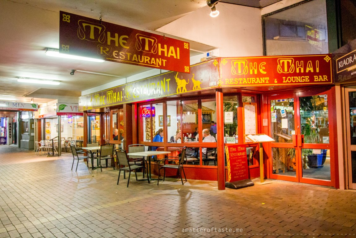 Rotorua New Zealand thai restaurant
