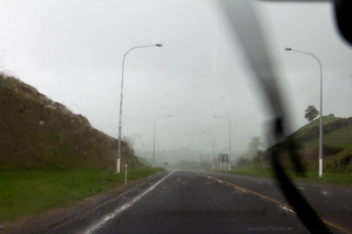 driving to hobbiton