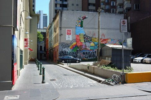 Melbourne CBD Street Art Walk