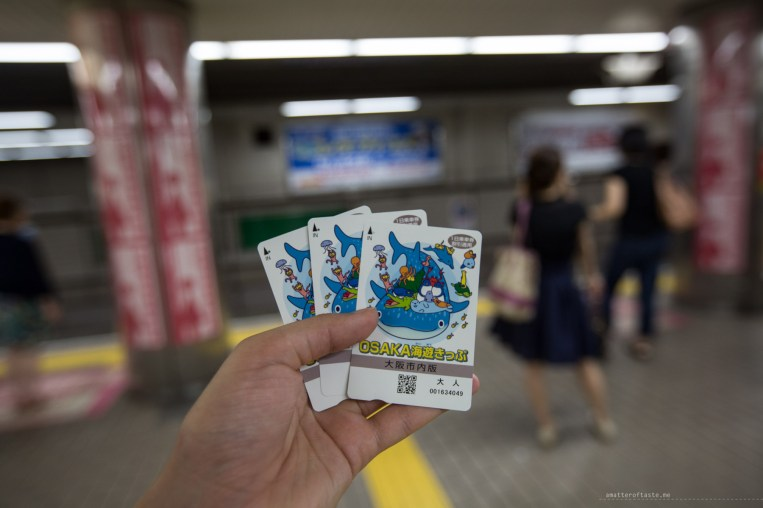Osaka day pass ticket aquarium