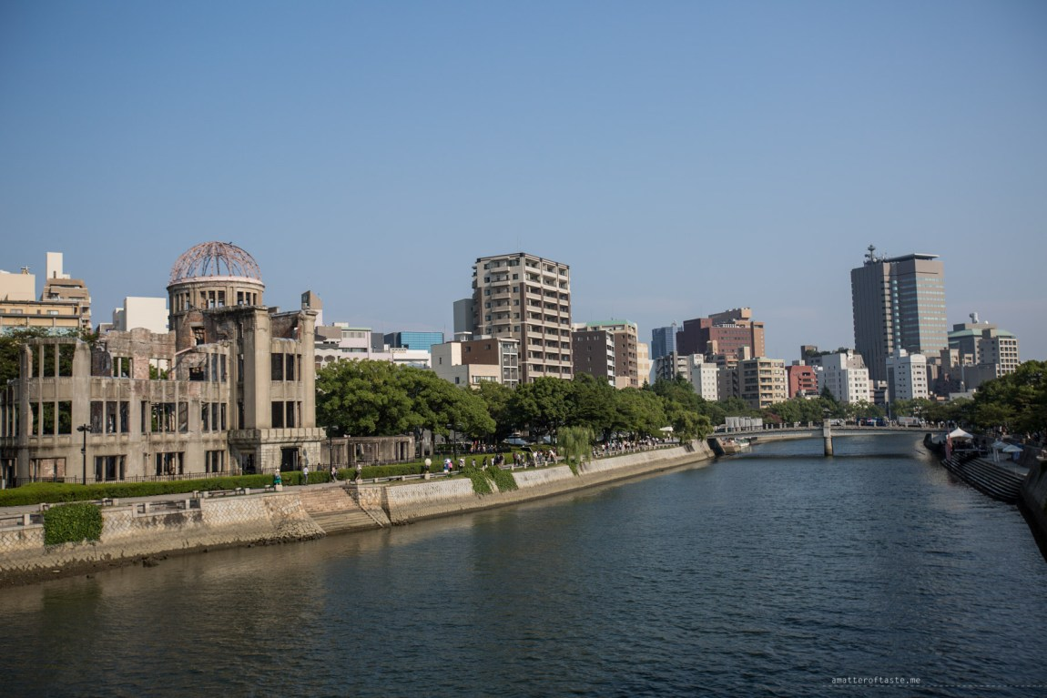 Hiroshima Peace memorial park 70th anniversary 2015
