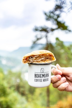 Bohemian Switzerland Northern Hikes day trip from Prague coffee cake strudel