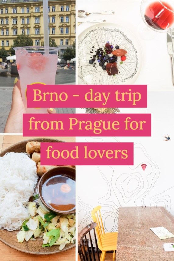 Brno - day trip from Prague for food lovers