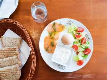 Cafe Atlas brno norwegian breakfast