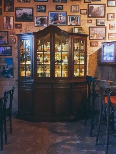 Cubana Bar brno cabinet