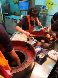 Food taiwan pepper pork bun night market