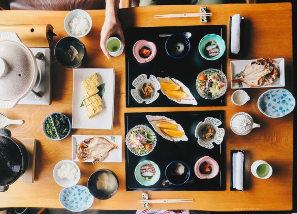 Japanese-food-ryokan-breakfast