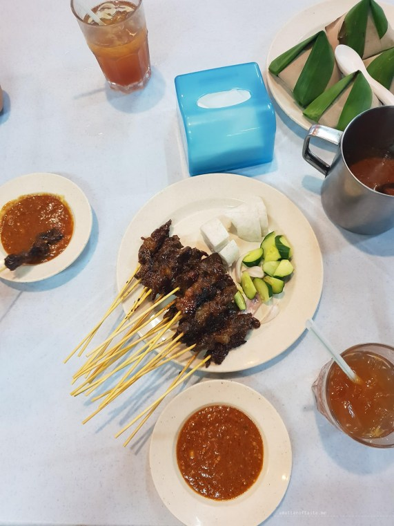 KL Malaysia street food satay