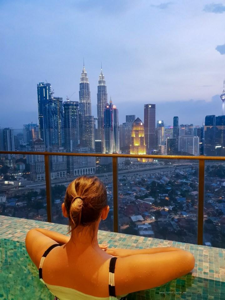 Kampong Baru Malaysia KL apartment pool rooftop
