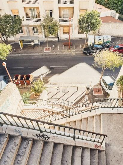 Marseille stairs