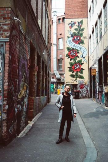 Melbourne between lockdowns laneways