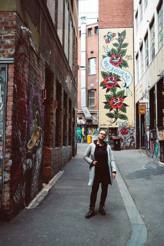 Melbourne between lockdowns laneways
