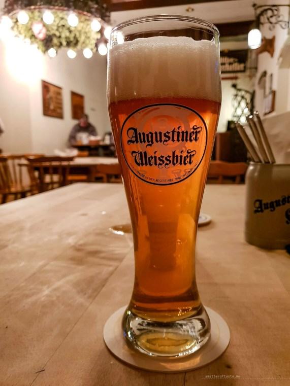 Munich Augustiner Keller beer