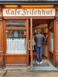 Munich schmalznudel. cafe Frischhut