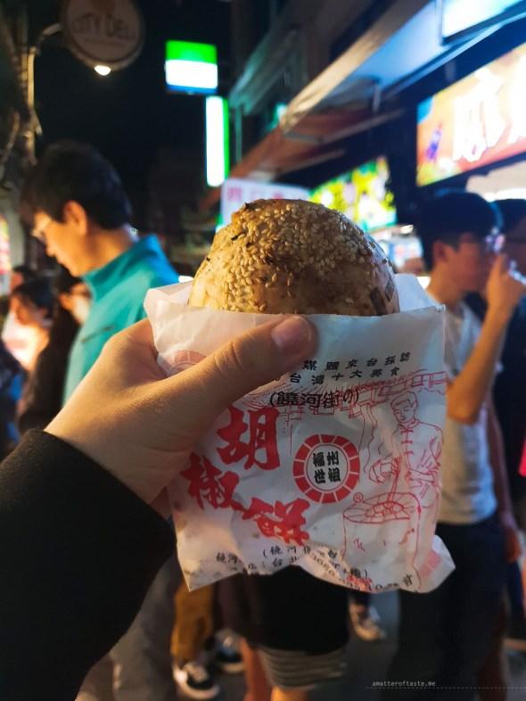 Night markets Taiwan Taipei pork bun