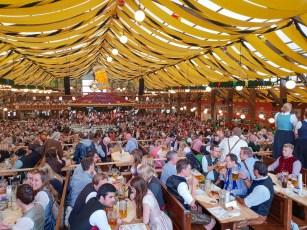 Oktoberfest Munich road trip Paulaner tent party