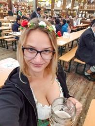 Oktoberfest Munich road trip selfie beer