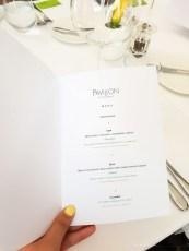 Pavillon fine dining brno set menu lunch