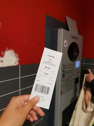 Pfand ticket