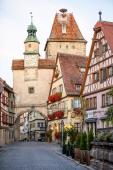 Rothenburg ob der Tauber germany town