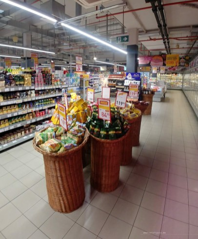Shopping Prague supermarket