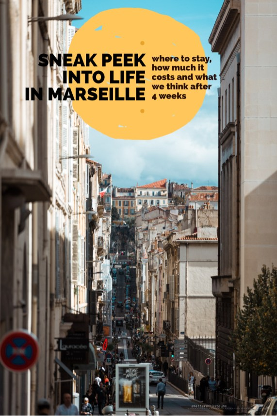 Sneak peek into life in Marseille