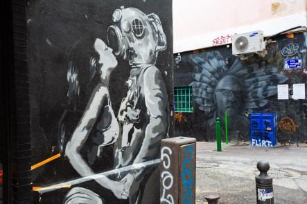 Street Art in Marseille love