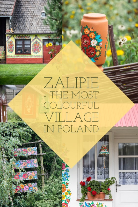 Zalipie - the most colourful village in Poland