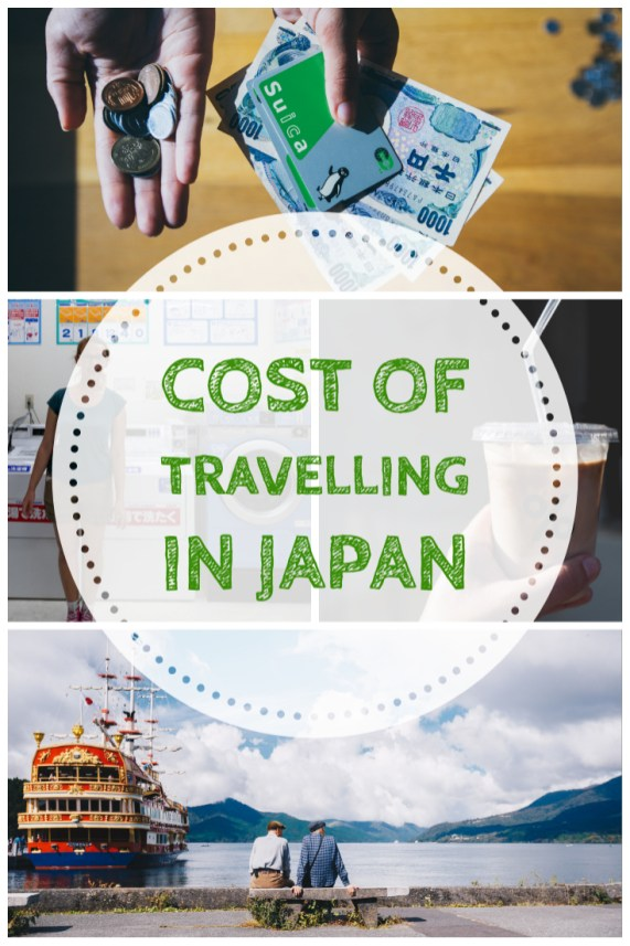 cost of travelling in Japan