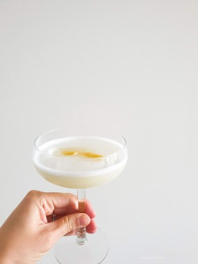 fancy cocktail at home