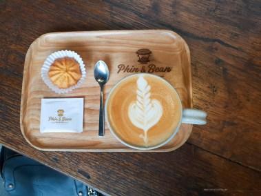 phin and bean HCMC coffee flat white