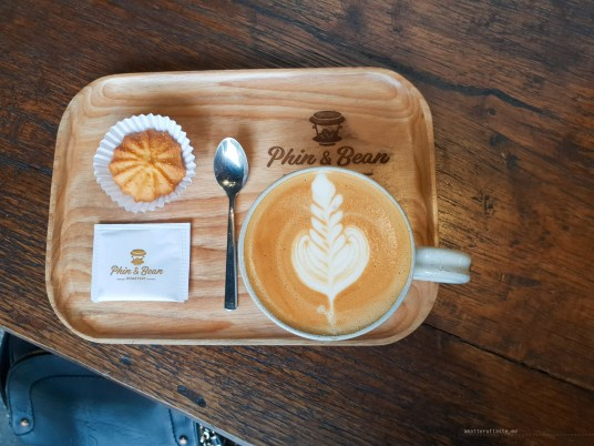 phin and bean HCMC coffee flat white