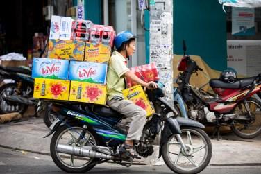 saigon motorbike transport drinks