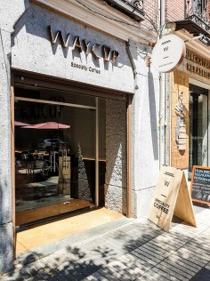 WAYCUP cafe entrance