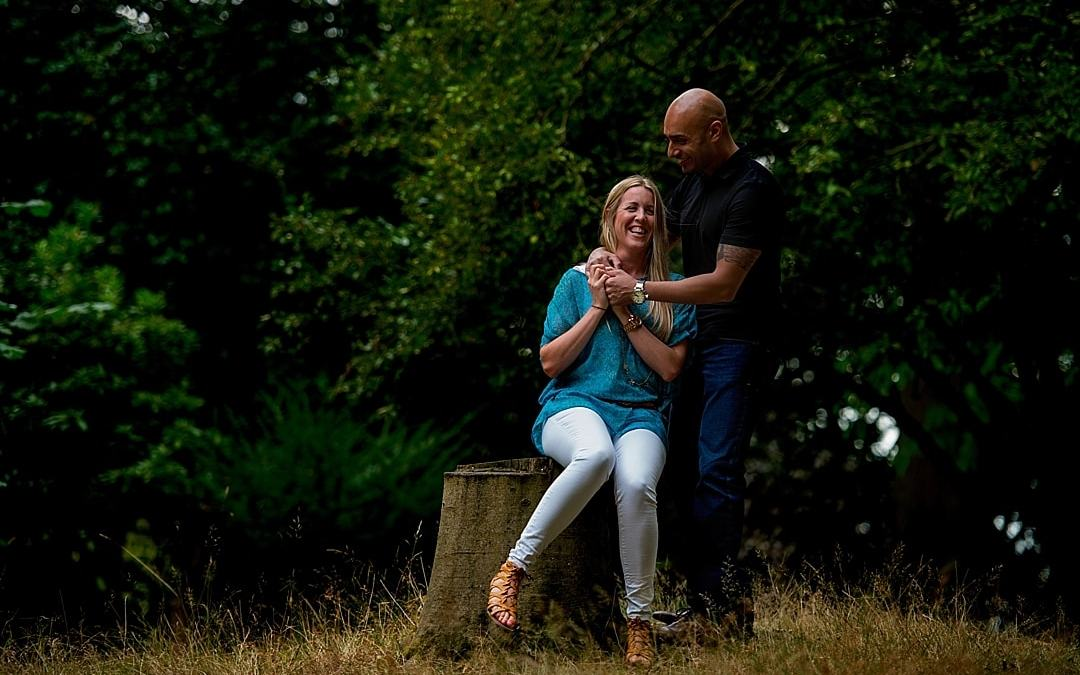 Romantic Richmond Park Pre-Wedding Photography Shoot