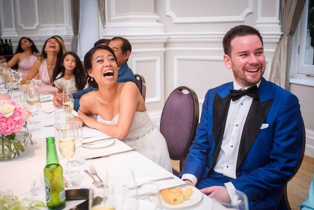 Corinthia Hotel Wedding Photographer Speeches