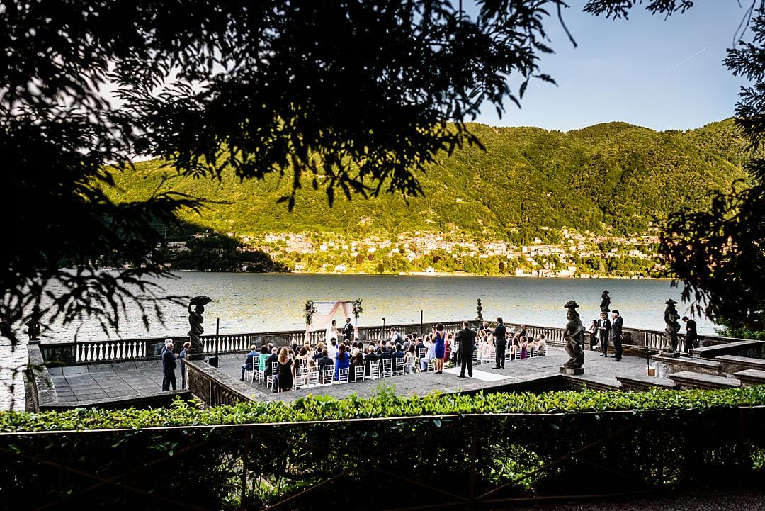 Marriage Ceremony at Villa Pizzo Lake Como