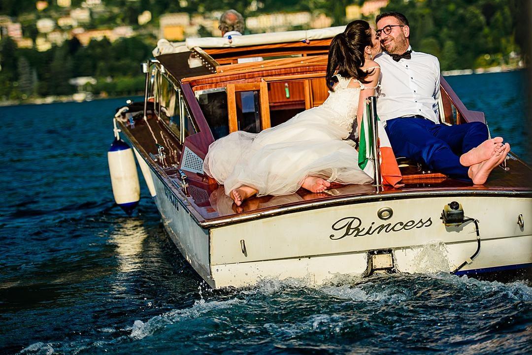 Lake Como Engagement Photography