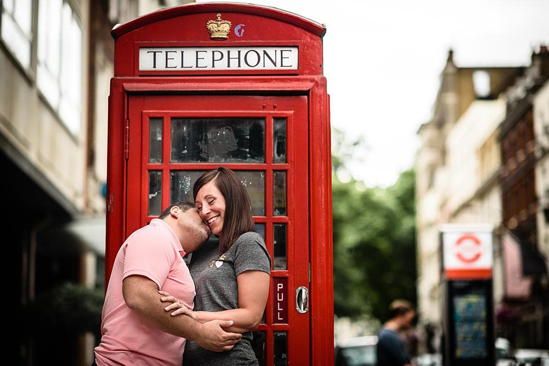 Romantic London Engagement Photography Notting Hill