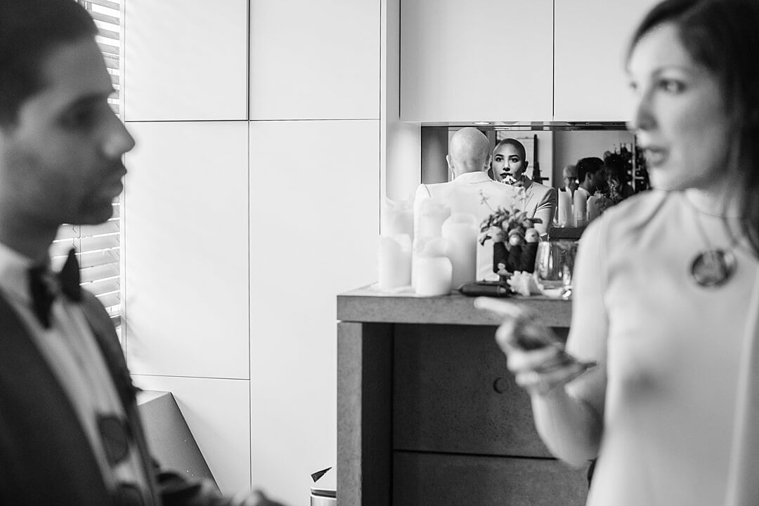 Islington Town Hall Wedding Photographer Bride & Groom Bridal Prep