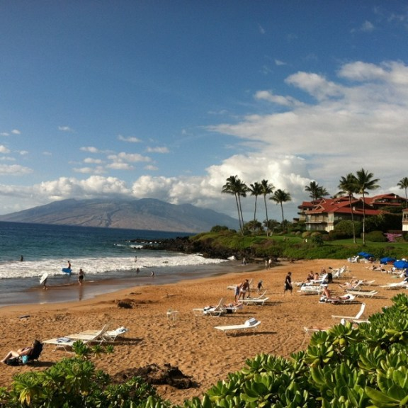 Running on Maui, Polo Beach Makena