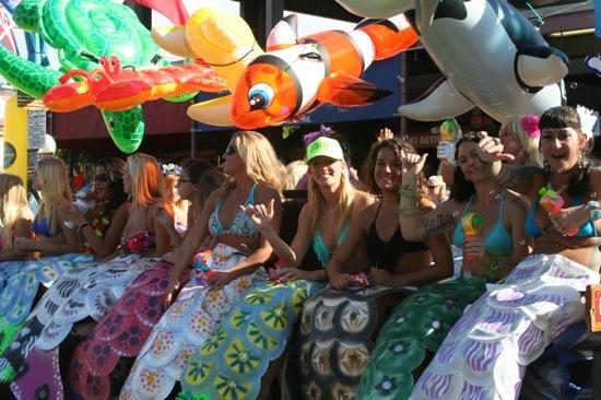 Whale Day Parade Maui Mermaids - 2
