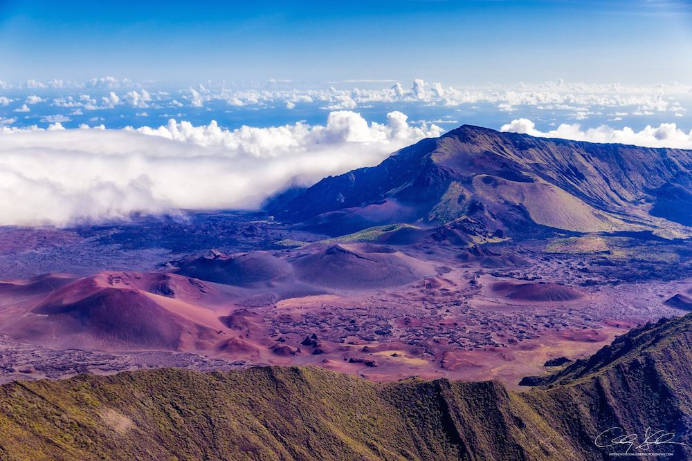 Majestic Haleakala by Andrew Shoemaker